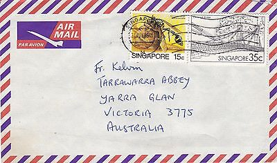 BD893) Singapore 1986 nice Airmail cover to Australia