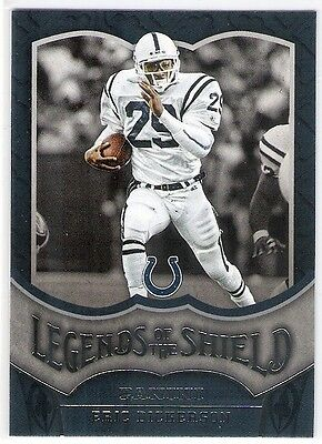 Eric Dickerson  2016 Panini Football Legends Of The Shield Insert #15