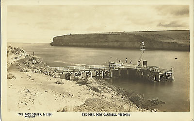 Postcard - The Pier, Port Campbell, Victoria, Australia - Early Century
