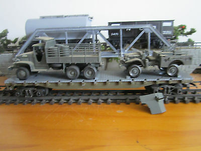 Tri-ang Flat Car R128 with Removable Load Lot 1