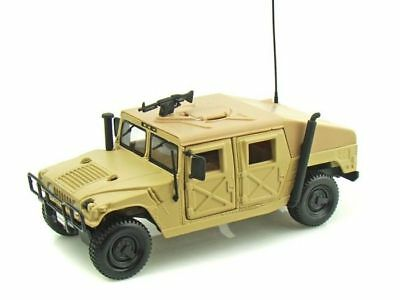 Hummer Military Humvee Sand Maisto Diecast Car Collection Model 1/27 1:27