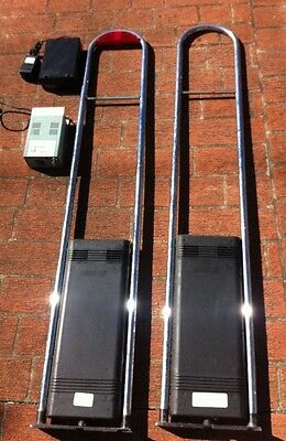 Retail Security Gates Posts Anti Theft Checkpoint Rf W/deactivator And Labels