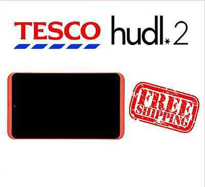Tesco Hudl 2 Red Replacement Full Screen LCD Digitizer Assembly