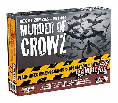 Zombicide Murder Of Crowz  - BRAND NEW
