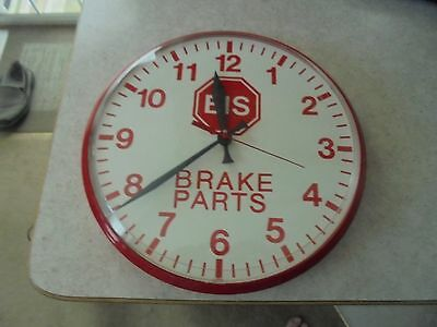 collectible EIS brake parts battery operated  wall clock in the original box