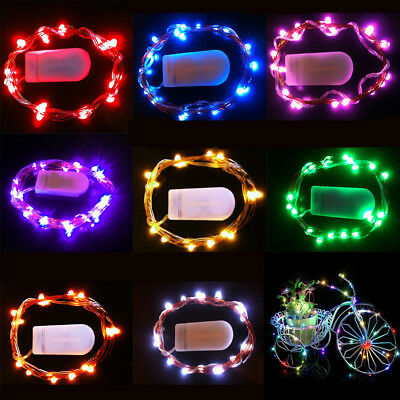 3M/30 LED Steady on Copper Wire String Light Waterproof Rope Lamp with Battery