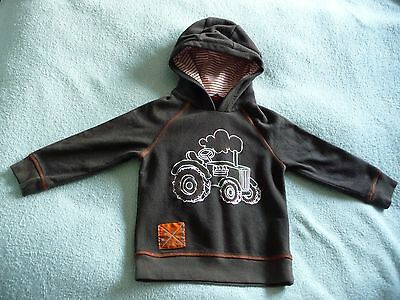 ** FAB Tractor Themed Hooded Fleece - George (18 - 24 months) **