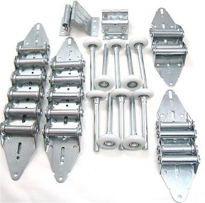 Garage Door Hinge & Wheel/Roller Value Pack Genuine B&D Gliderol Universal