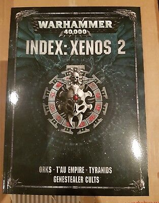 Warhammer 40k index: Xenos 2 Orks Tau Tyranids codex codec 2017 8th ed