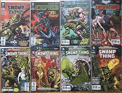 SWAMP THING #8, 9, 10, 11, 12, 13, 14, 15 (Vol 5, New 52) Synder, Paquette