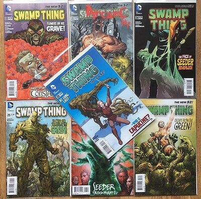 SWAMP THING #23, 23.1, 24, 25, 26, 27, 28 (Vol 5, New 52, 2013-2014)
