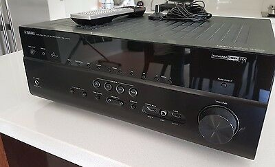 Yamaha rx v2700 7 1 channel 140 watt receiver aud for Yamaha multi zone receiver