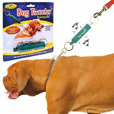 Dog Obedience Trainer Training Aid Puppy Tweeter Lead Collar Attachment Humane