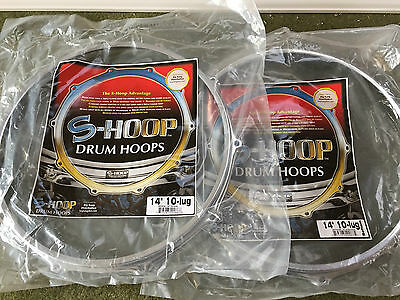 "14"" S-Hoop Snare Drum S - Hoops, Top or Bottom, 8 Holes/Lugs."