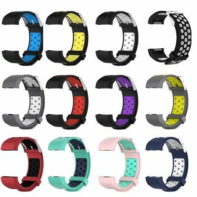 Replacement Wrist Straps Soft Silicone Watchband For Fitbit Charge 2 Watch Bands