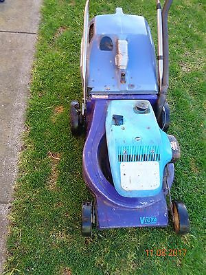 Vintage Victa Sports Series 70 - 2 Stroke Mark 3 (Purple) Lawnmower For Parts