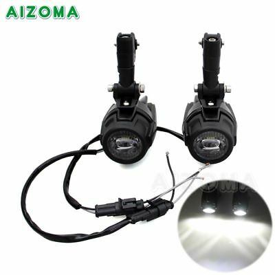 Motorcycle Spot LED Auxiliary Fog Light Driving Lamp For BMW R1200GS F800GS Hot