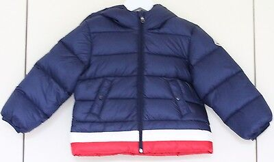 Moncler Baby Kids Azel Down Padded Navy Jacket 18-24 Months