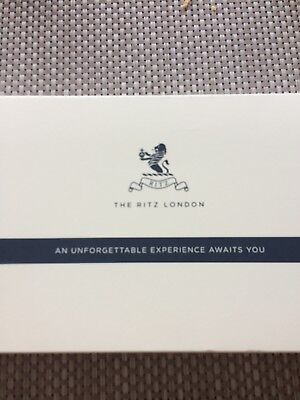 Traditional Afternoon Tea For Two Tickets At The Ritz London