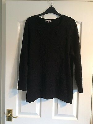Ladies Black Long Jumper