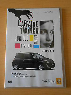 DVD promotionnel RENAULT 2007 l'affaire twingo laeticia casta