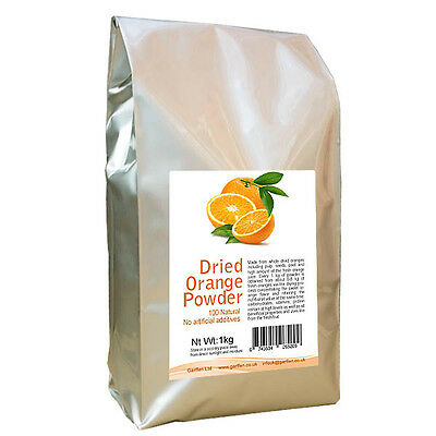 Whole Dried Lemon / Orange Powder 1kg Citrus Spices & Seasonings