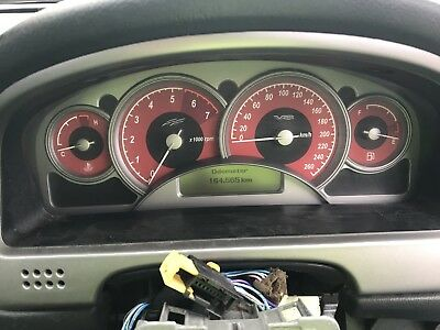 VY SS Holden Commodore 2003 5.7ltr RED face Instrument Cluster