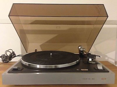 Philips 437 Synchro belt drive Turntable (France)