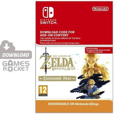 Legend of Zelda: Breath of the Wild Expansion Season Pass - Switch eShop Code