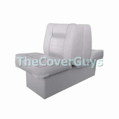 Maritime Premium Back to Back Lounge Boat Seat Grey