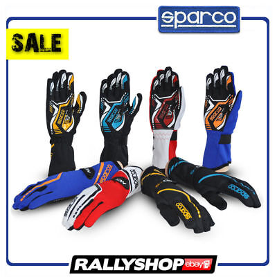 Karting Gloves SPARCO TORPEDO KG-5 Kart Slim KG5 Race Rally Drive Sport CHEAP !