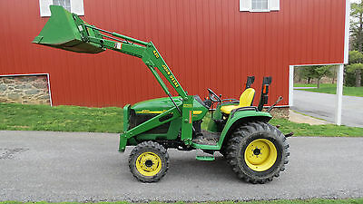 Nice 2004 John Deere 4310 4X4 Compact Utility Tractor W/ Loader Hydro 553 Hours