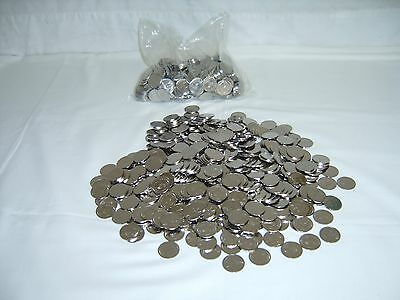 350 Stainless Japanese Pachislo Slot Machine Super Tokens - Standard .984 Size