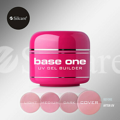 SILCARE BASE ONE UV GEL BUILDER COVER 5g 15g 30g 50g