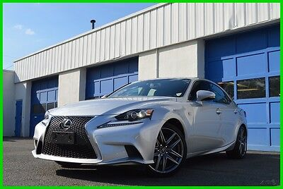 2015 Lexus IS Base Sedan 4-Door Navigation Package Heated & Ventilated Leather Seats Blind Spot Monitor Save Big