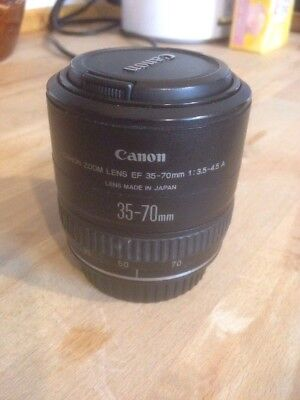 Canon EF 35-70mm 1:3.5-4.5 A Zoom Lens