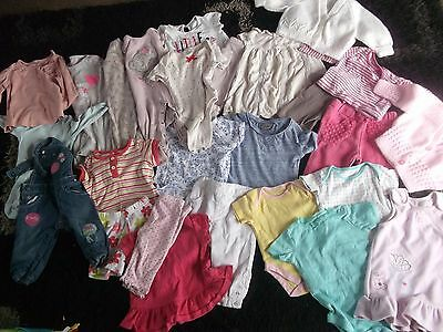 baby girls clothes bundle/3-6months/outfits/vest/sleepsuits/dresses