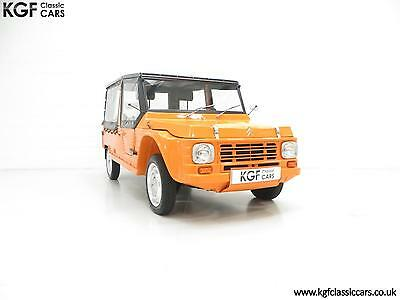 A Delightful Citroen Dyane 6 Méhari with Fully Traceable History from New