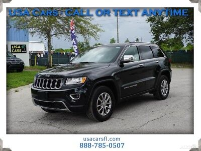 2016 Jeep Grand Cherokee Limited 2016 Jeep Grand Cherokee Limited 4x4 V6 24V Automatic 4WD SUV