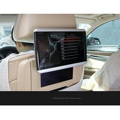 Entertainment 10.6 Inch LCD For BMW Auto Headrest Display Android System Monitor