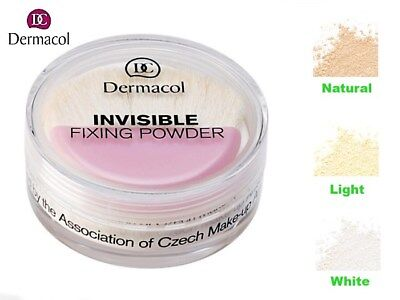 Dermacol Invisible Fixing Powder Transparent Light, Natural Or White