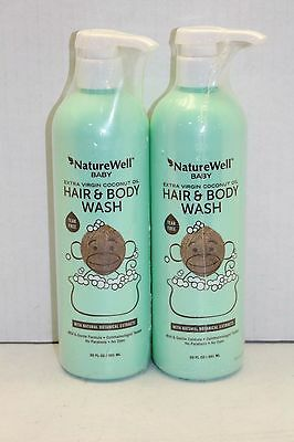 (2X) Nature Well Baby 2-in-1 Hair and Body Wash (20 fl. oz., 2 pk.)