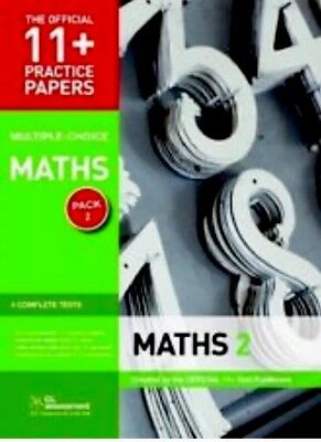 GL 11+ Practice Papers Maths Pack 2 GL Assessment Tests 5 6 7 8 9780708720479
