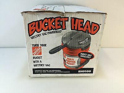 Bucket Head BH0100 5 gal. 1.75-Peak HP Wet Dry Vac
