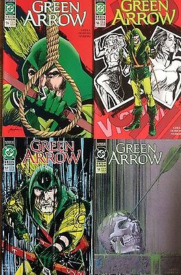 Green Arrow #55,56,57,58