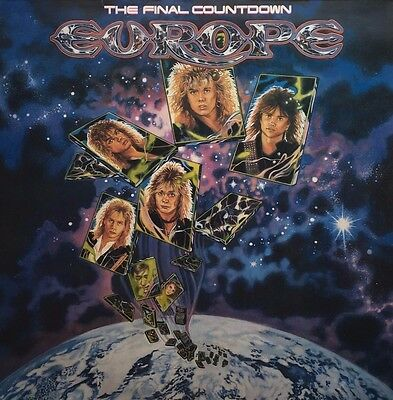 Europe - The Final Countdown (Vinyl, LP, Album, Embossed Cover)
