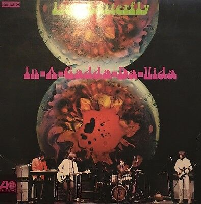 Iron Butterfly - In-A-Gadda-Da-Vida (Vinyl, LP, Album, Reissue)