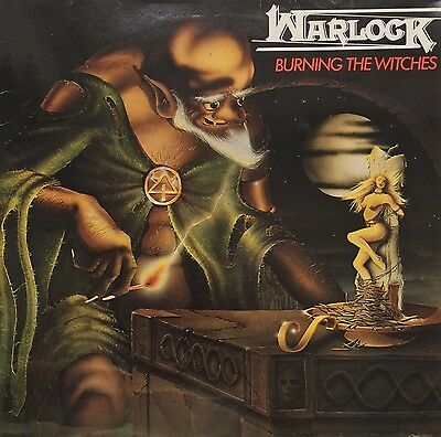 Warlock - Burning The Witches (Vinyl, LP, Album, Reissue)