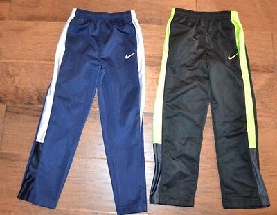 Nike Boys Athletic Pants (Lot of 2) Size XS (6-7) Youth Black Blue GUC