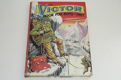 the Victor book for boys 1967 annual - excellent unclipped